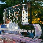 Bohlsen Restaurant Group Ice Sculpture