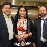 Sanjay Goyal, Madhu Goyal, Gary Sikka (Owners of Mint)