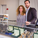 Diane Gross, Matthew Gross (Gross Jewelers)