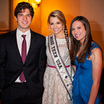 Justin Galloway (NMA Teen Health Advocate), Danielle Doty (Miss Teen USA), Alana Galloway  (NMA Teen Health Advocate)