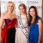 Sara Herbert Galloway, Danielle Doty (Miss Teen USA), Alana Galloway (NMA Teen Health Advocate)