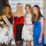Daisi Sepulveda (Mrs. Ethnic World International 2012), Sara Herbert-Galloway, Danielle Doty (Miss Teen USA), Alana Galloway (NMA Teen Health Advocate)
