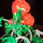 Jack-o-lantern Puppets