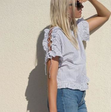 Nordstrom is one of the best clothing websites for trends like this!