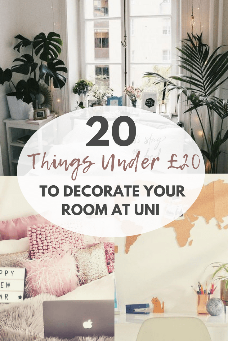 20 things under 20 to decorate your uni dorm room - Things to decorate your room ...