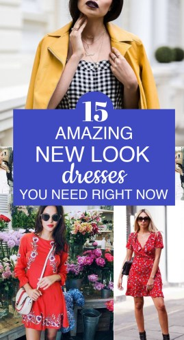 15 Amazing New Look Dresses You Need Right Now