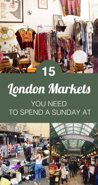 15 London Markets You Need To Spend A Sunday At