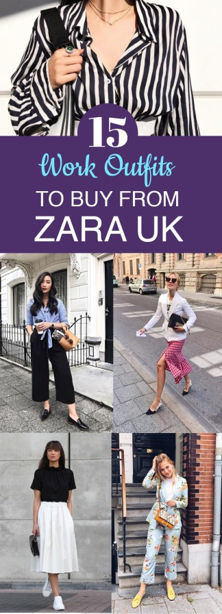 15 Work Outfits To Buy From Zara UK