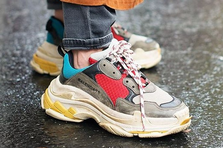 These Dad looking sneaker trainers are the new sneakers of 2018. They were seen on the runway, and now in street style. However, the real question is - will you be wearing them?