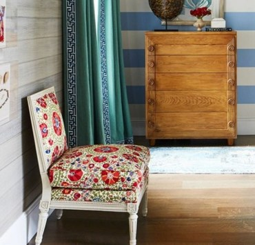 Take a look at these cute accent chairs for your flat! They are stylish and inexpensive items to add to your space for some color and patterns.
