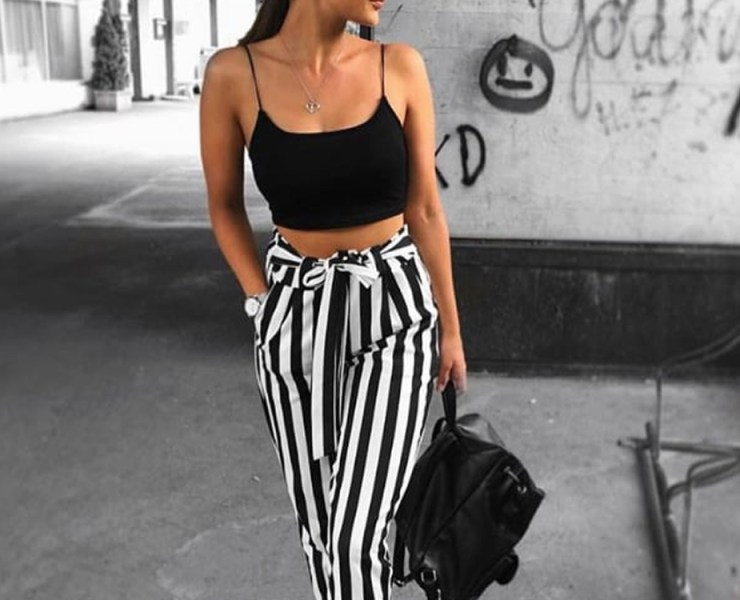 Take a look at these paper bag waist pants that are to die for. These pants are great for office attire or cool street style any time of year.