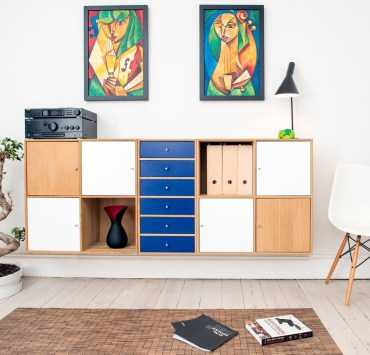 Having versatile furniture can make life in your flat so much better and more organized! Here's some of our favourite pieces of it!