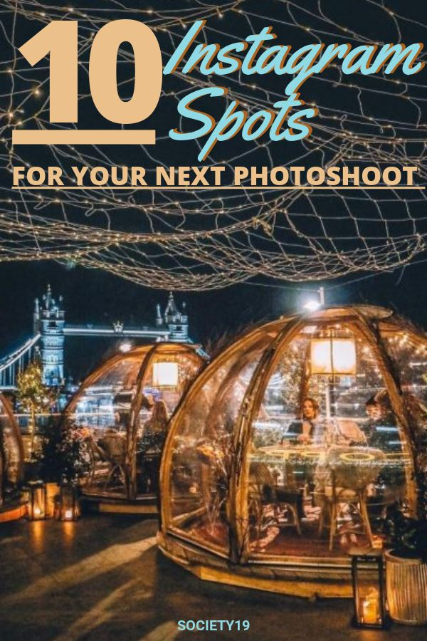 10 Instagram Spots In London For Your Next Photoshoot