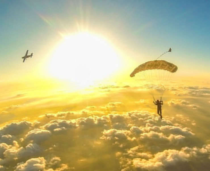 I suffered the loss of my 22-year-old cousin so I'm skydiving to raise some money for charity and make a difference for other young people suffering.