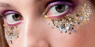10 Glitter Glue Makeup Looks You Won't Believe