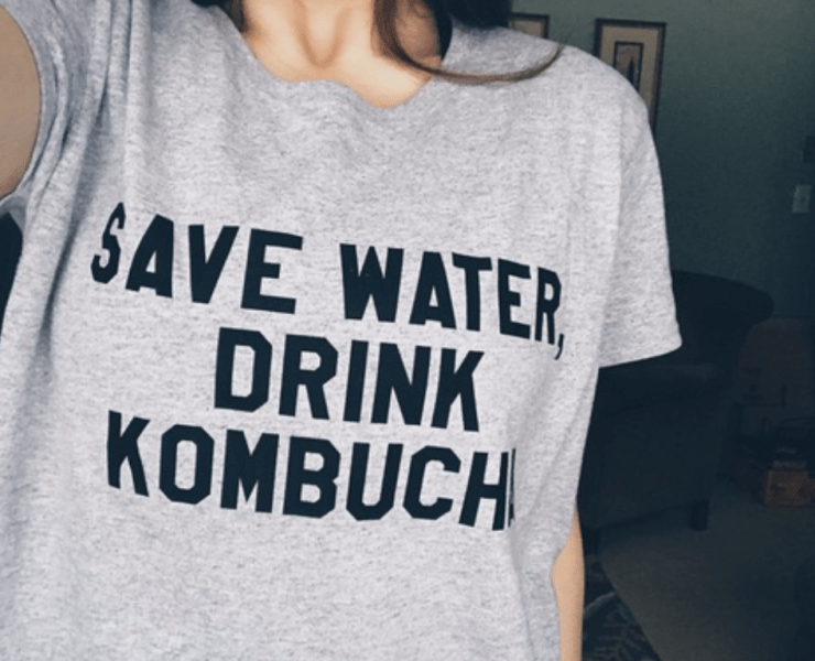 I drank kombucha and had some mixed feelings about it. But it did benefit my health. Even though it left a gross taste in my mouth.