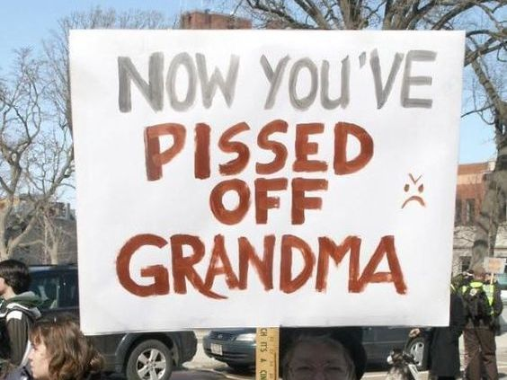 Protest signs not only spread a powerful message, but are also great to make people laugh. Here are 20 Best Protest Signs From Marches That You Have To See.