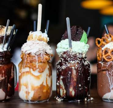 Monster shake up your life with these tasty creations. If you have a thirst a regular milkshake can't sate, these are your best bet.