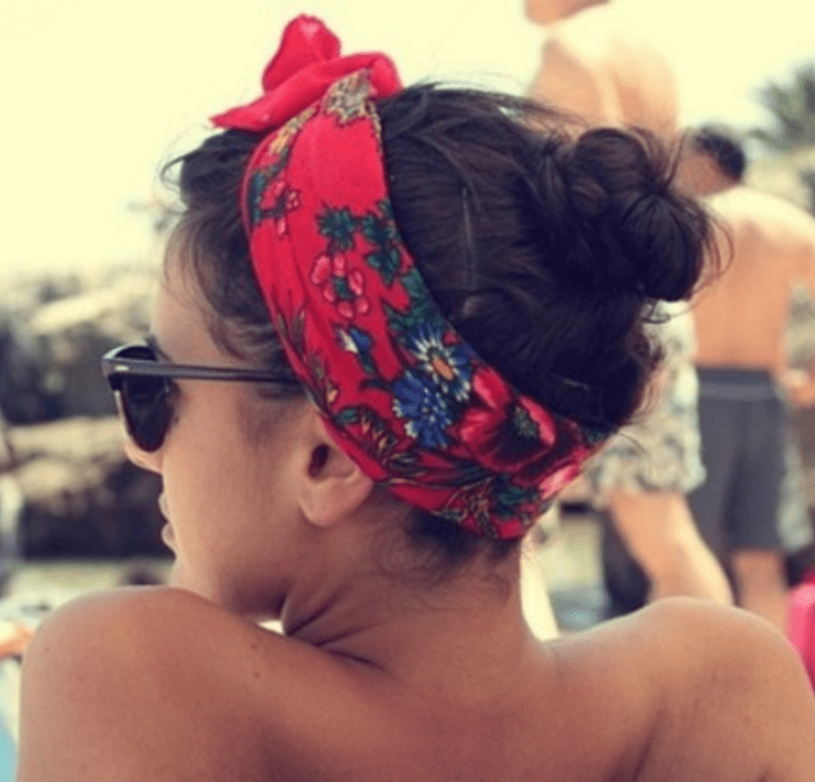 Headbands have always been in style but this summer are at the forefront of fashion this summer. They are classic and effortless.