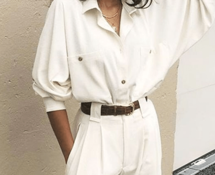 White is the colour to be seen in this summer. But with so many wears to wear white, which is best? Don't worry, we got you covered with our advice!