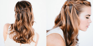 The waterfall braid is a quick, easy, and beautiful hairstyle to try. Perfect for a night out or a day at the beach with friends!