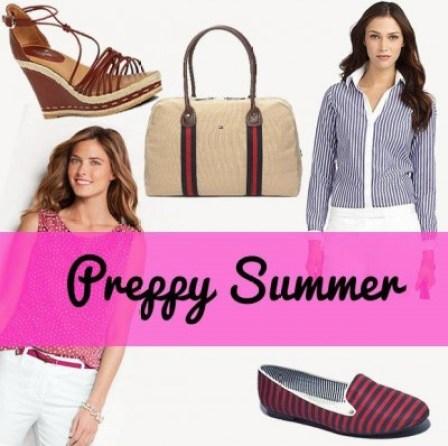 preppy summer