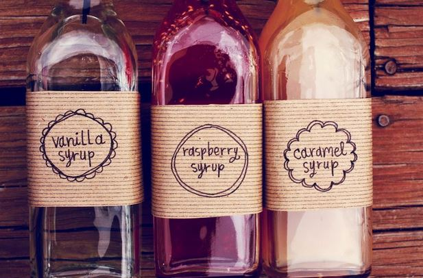 DIY Flavored Coffee Syrup