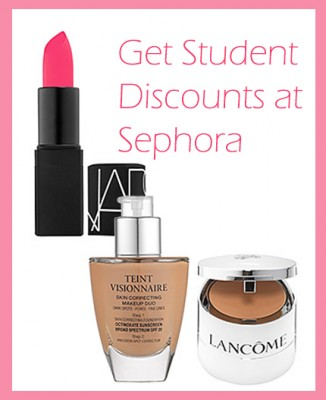 Get Student Discounts at Sephora