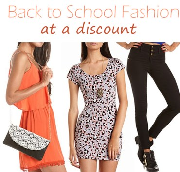 Back to School Fashion With Charlotte Russe