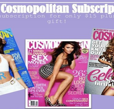 Sign up for a Cosmo Subscription & help fight ALS !