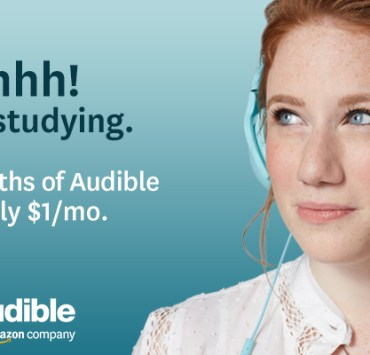 Audible Limited-Time Crazy Generous Student Discount