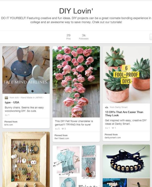 Whether You Want To Spruce Up Your Dorm Room Or Wardrobe Visit Pinterest Find All Kinds Of Do It Yourself Time Passers