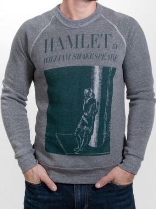 Gifts for Book Lovers - Hamlet sweater