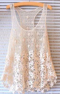 Summer Fahion - Crochet cami