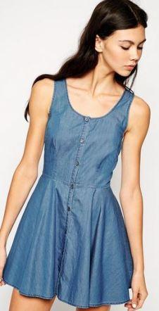 Summer Fahion - Denim Dress