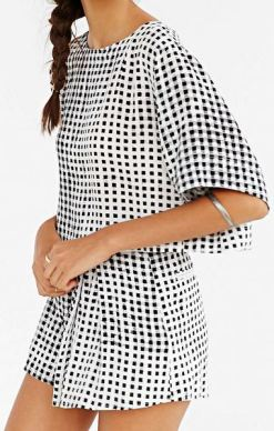 Summer Fahion - Gingham outfit