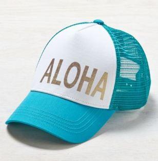 American Eagle AEO Aloha Trucker Hat