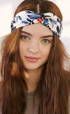 Forever 21 Tropical Print Headwrap