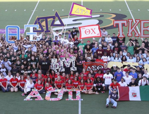 Greek Life Group Picture