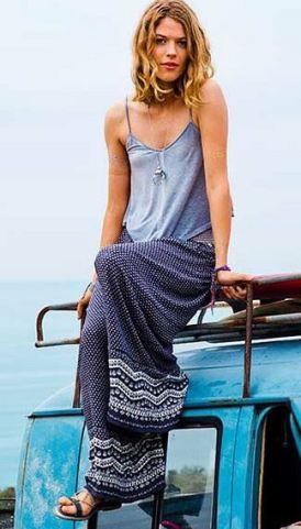 Aerie Drawstring Beach Pants