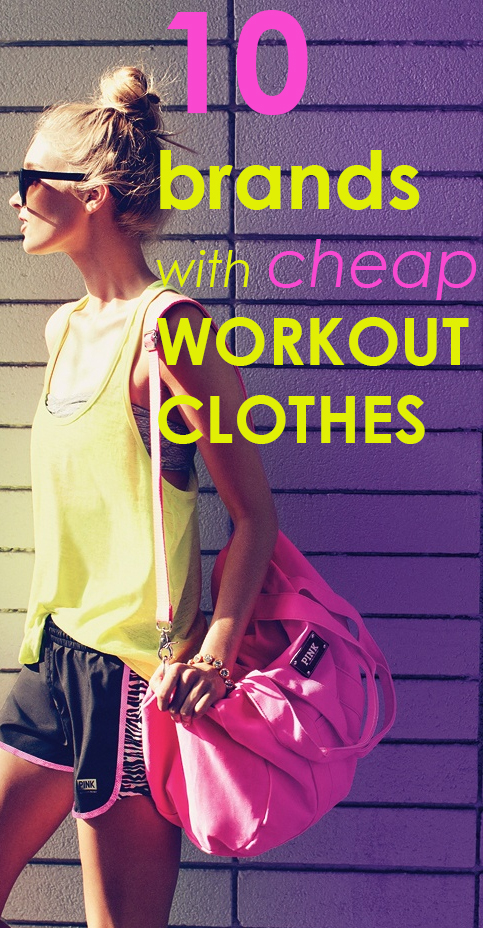 Where to buy cheap workout clothes online