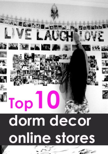 These are some of the best places and dorm decor websites to check out!