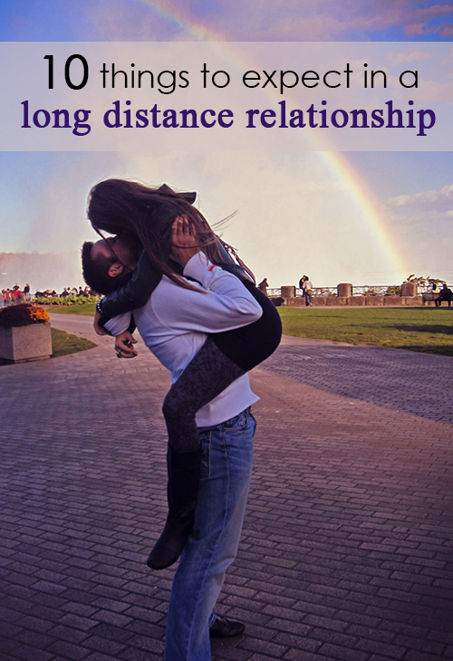 10 things to expect when you're in a long distance relationship pin