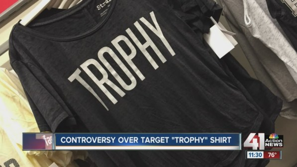 Controversey over Trophy Shirt