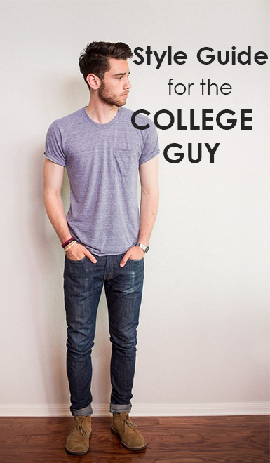 These outfits are perfect for the college guy!