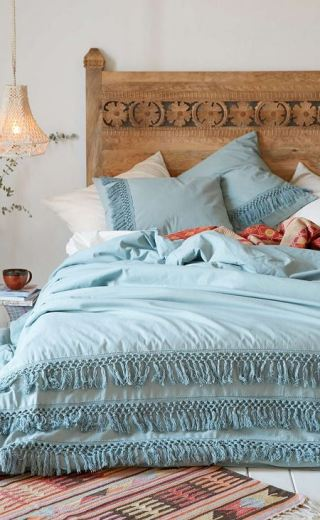 What You'll Need in Your First Appartment: Magical Thinking Net Tassel Duvet Cover