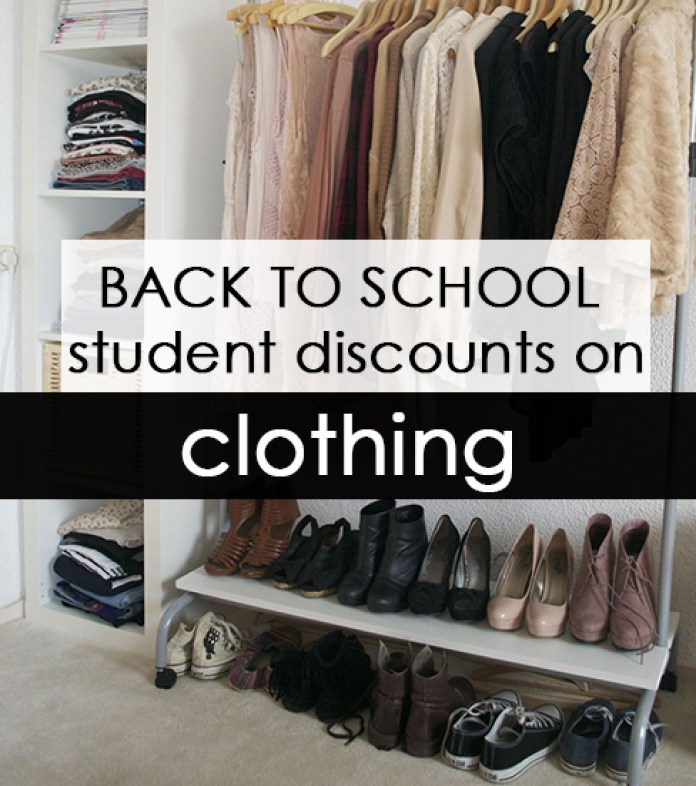 Before they head off to college, a lot of people need to revamp their wardrobe. Whether you just need a few new pieces, like a winter coat or new shoes, or you're about to buy a totally new wardrobe for college be sure to take advantage of back to school discounts to save on your new wardrobe!
