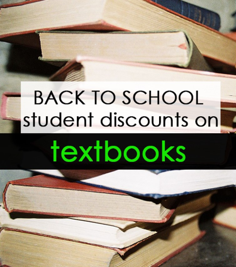 College textbooks are ridiculously expensive. Renting your textbooks or buying them used can usually save you quite a bit.. Save even more by taking advantage of back to school discounts!