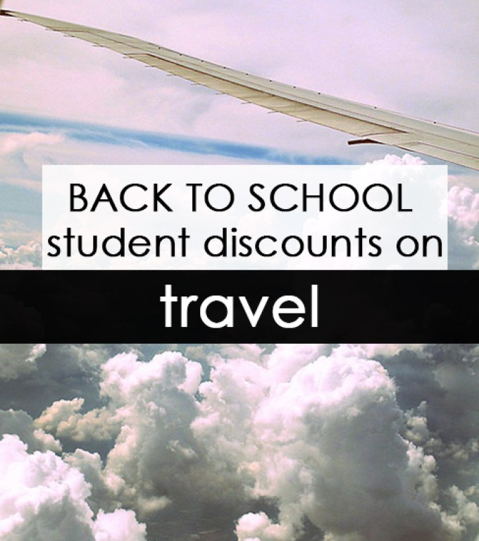 Just getting to school can be a process in itself. If you're flying out to your school you have to also worry about staying in a hotel and how you're going to get all of your things to school. Save on your travel expenses by taking advantage of back to school discounts!