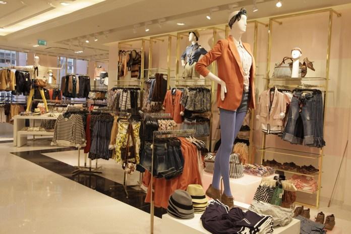 forever 21 shop interior